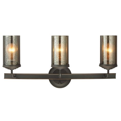 Sea Gull Vanity Lighting Sea Gull Lighting 4410403 715 Autumn Bronze Sfera 3 Light Bathroom Vanity Light With Mercury