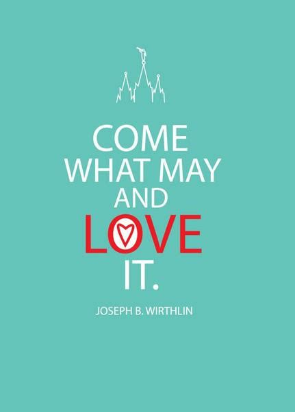 day by day come what may day by day lds quote a day come what may and love it
