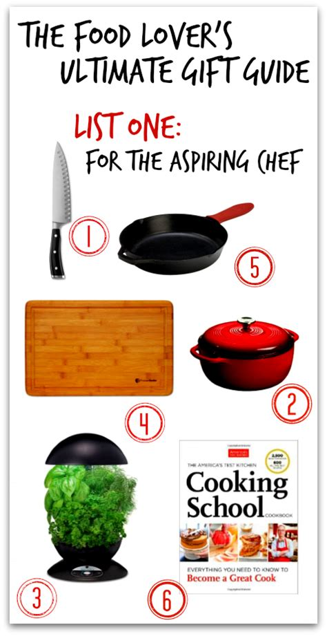 gifts for aspiring chefs the food lover s ultimate gift guide the wanderlust kitchen