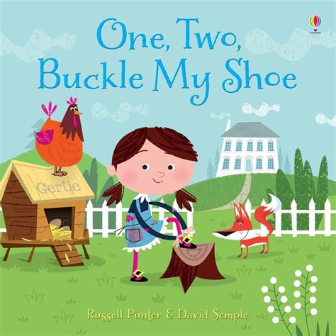 one two buckle my one two buckle my shoe at usborne books at home