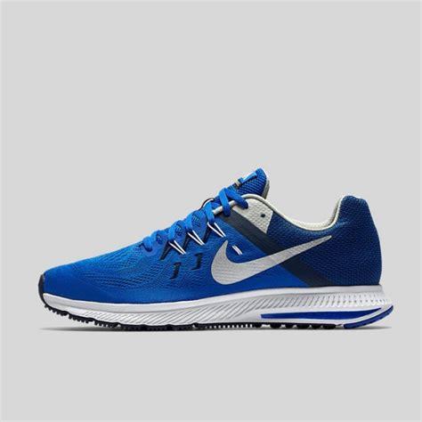 Sepatu Adidas Zoom Original jual sepatu lari nike zoom winflo 2 blue original