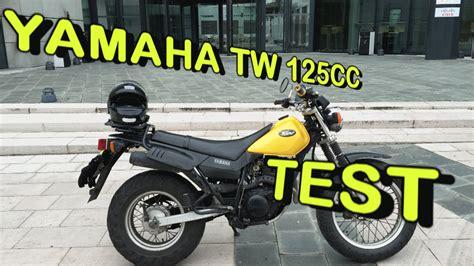 test opinioni test yamaha tw 125