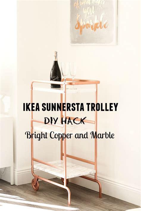 Sunnersta Hack | ikea sunnersta bar cart hack diy your beauty