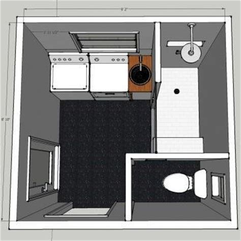 bathroom laundry room floor plans 25 best ideas about laundry bathroom combo on pinterest