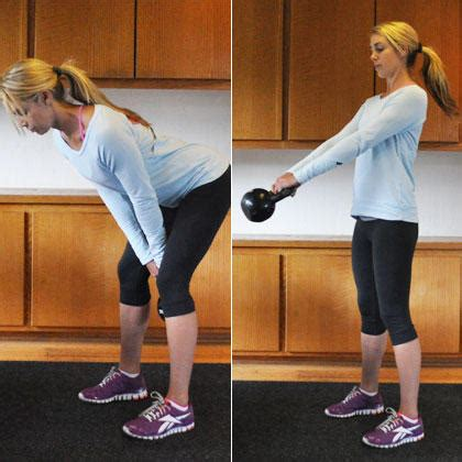 kettlebell swing results total kettlebell workout routine shape magazine