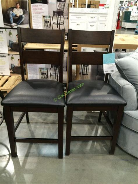Costco Counter Stools by Bayside Furnishings 2pk Counter Stools Costcochaser