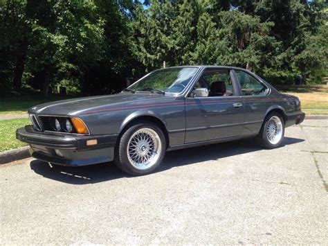 1986 bmw 6 series for sale