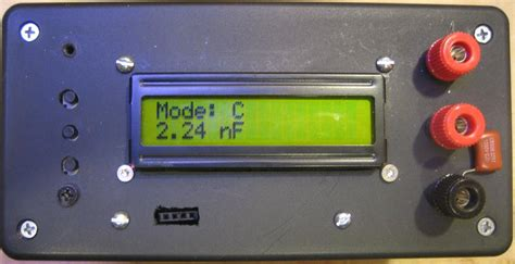 capacitor meter avr capacitance meter using avr 28 images kerry d wong 187 archive 187 avr lc meter with