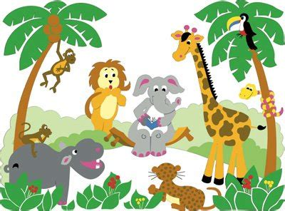 themes zoo story cartoon jungle animal pictures clipart panda free