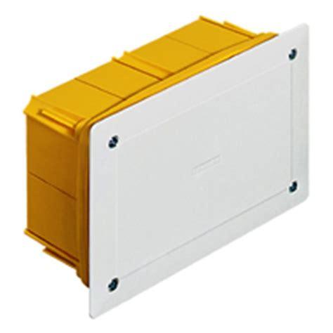 cassette elettriche da incasso scatola 16201 incasso derivazione con coperchio 10x10 cbticino
