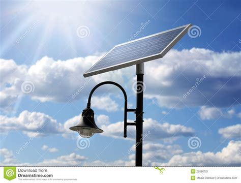 solar powered l post solar powered l post stock photos royalty free images