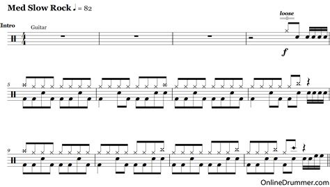 Zombie Drum Tutorial | the full drum sheet music for zombie by the cranberries