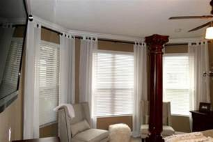 Bay window curtain rods jcpenney bay window curtain rods