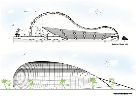 Stadium Sections by Stadium P Section Elevation By Minas Tirith Hakan On