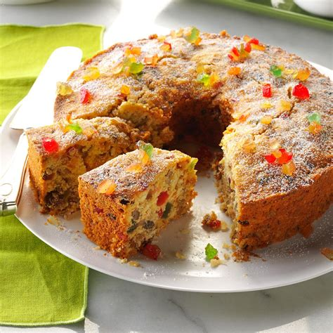 coconut fruitcake recipe taste of home