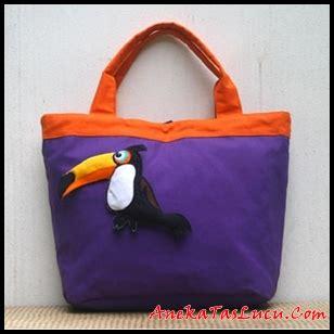 Tas Gendong Motif Boneka tas tote maika etnik pelikan bermotif hewan tas handmade wanita anekataslucu