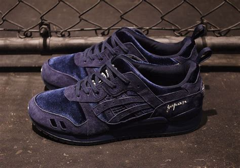 Asics Gel Lyte Iii X Beams Premium Quality 1 the beams x mita sneakers x asics gel lyte iii souvenir jacket in navy releases tomorrow
