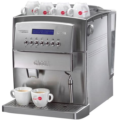 Coffee Maker Gaggia gaggia titanium automatic espresso machine whole