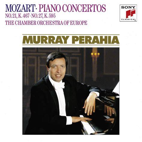 mozart piano concerto discography archive murray perahia