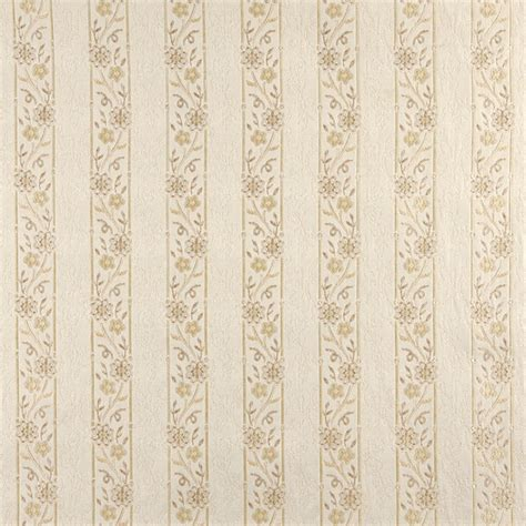 Embroidered Upholstery Fabric by Ivory Embroidered Striped Floral Brocade Upholstery Fabric