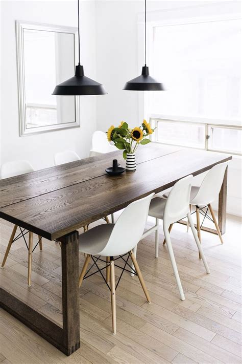 scandinavian dining room tables the 25 best dining table pendant light ideas on