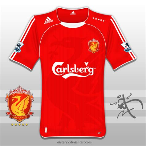Liverpool Tshirt Distro Hes Back new sponsor how about a new badge