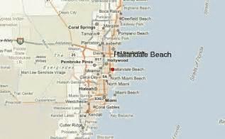 hallandale florida map hallandale location guide
