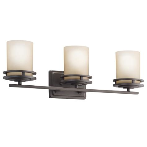 kichler bathroom light fixtures kichler lighting 5078oz bathroom lighting hendrik