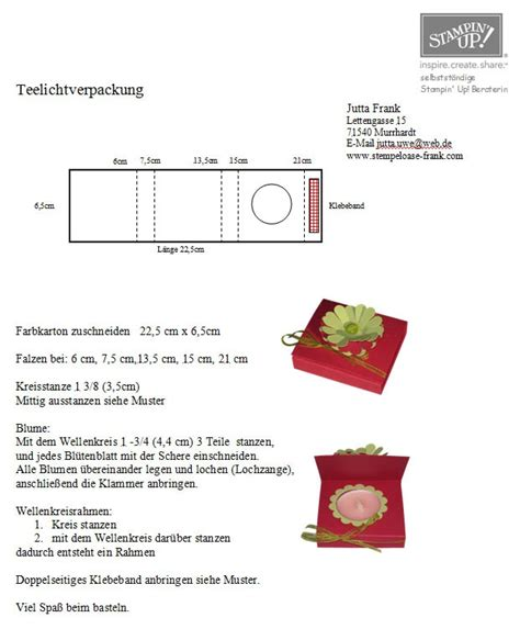 tealight card template 17 best images about tealight box and tealight cards
