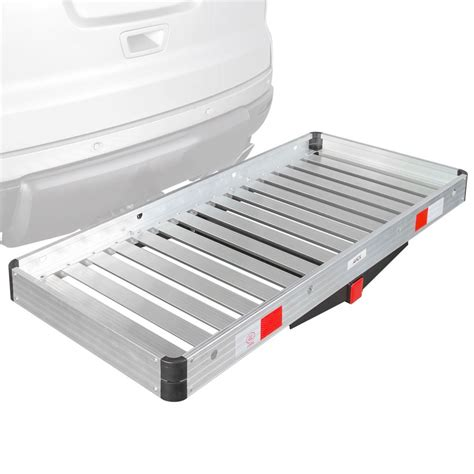 Aluminum Cargo Rack by Apex Aluminum Hitch Mounted Cargo Carrier Discount Rs