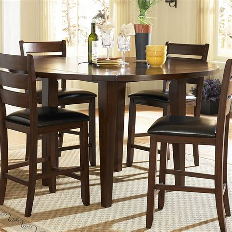 tall dining room table sets tall round dining table set starrkingschool