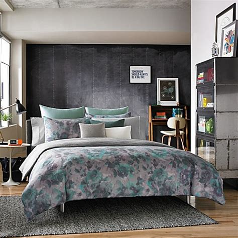 kenneth cole reaction home shadow floral comforter set