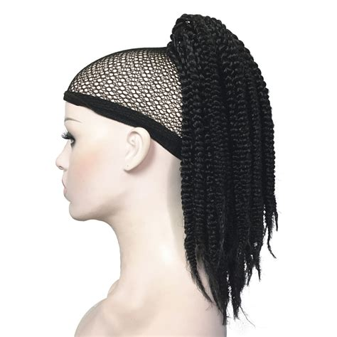 Clip On Braided Pony Tails For Afro American Woman | online buy wholesale braid ponytails from china braid