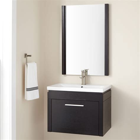 24 wall cabinet 24 sven wall mount vanity with mirror bathroom throughout