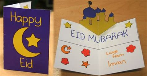 happy eid card template mosque pop up card tutorial and template teaching
