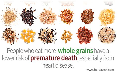 whole grains research whole grains linked to a longer herbazest