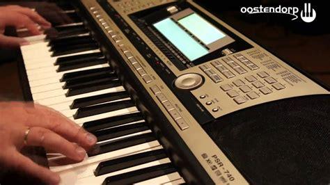 yamaha psr 740 yamaha psr 740 keyboard bij oostendorp muziek