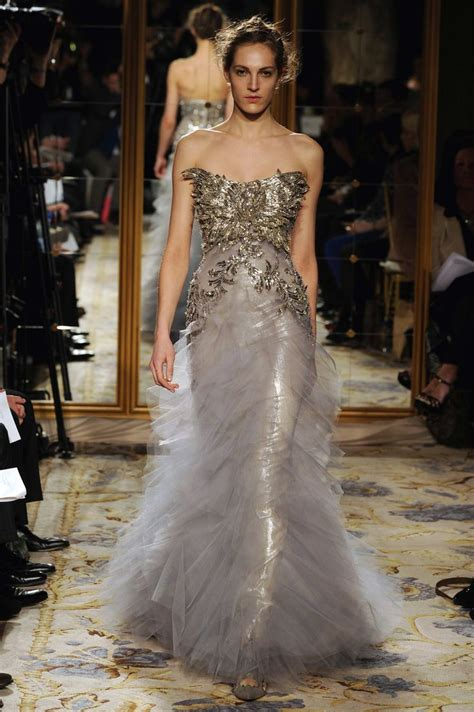 Catwalk To Carpet Nicky In Marchesa by Stunning Marchesa Gown Look 22 Wedding Dresses Color
