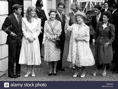 princess diana and charles queen mother with queen elizabeth ii prince charles