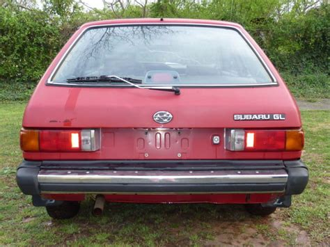 subaru hatchback 2 door 1988 subaru gl 2 door hatchback vintage