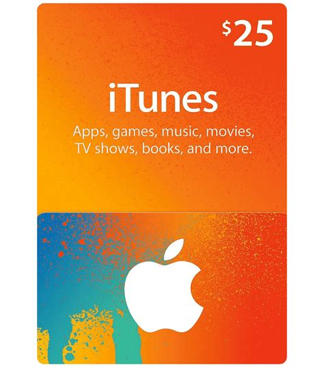 Us Gift Cards - itunes gift card 25 us email delivery mygiftcardsupply