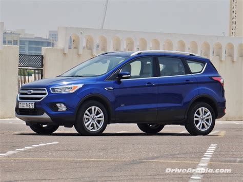 Ford Escape Ecoboost by 2017 Ford Escape Ecoboost Drive Arabia