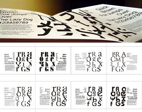 design font book graphic design portfolio invision pro video production