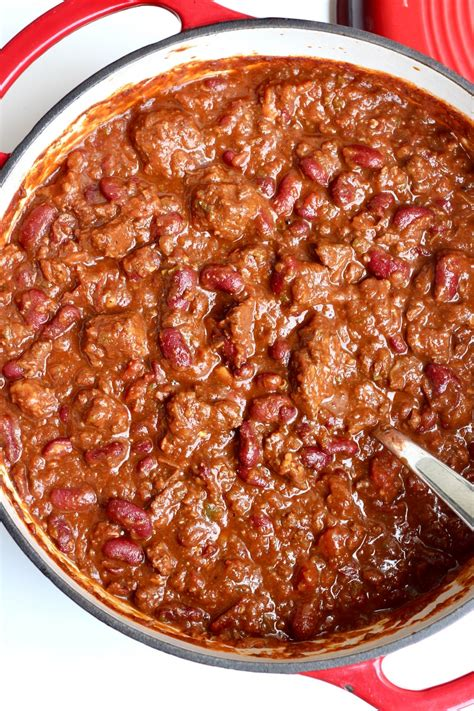 best chilli best darn chili the bakermama