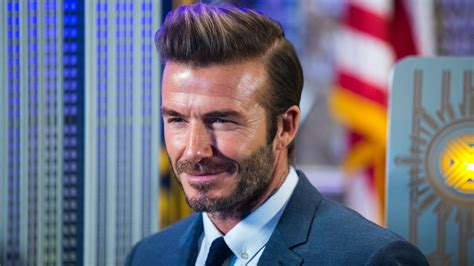David Beckham In by David Beckham Q A How Is The Ex Captain And