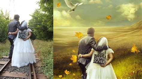 wedding photo editing photoshop manipulation  photo