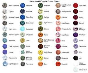 swarovski color chart jorry s trading inc swarovski
