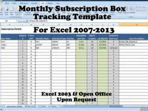 subscription tracker template for sellers product of the