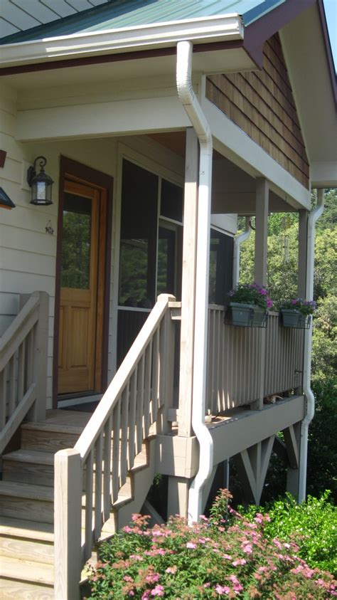 side porch exterior ideas pinterest