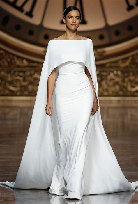 Wedding Dress With Cape by Favorite Wedding Dresses From Barcelona Bridal Week